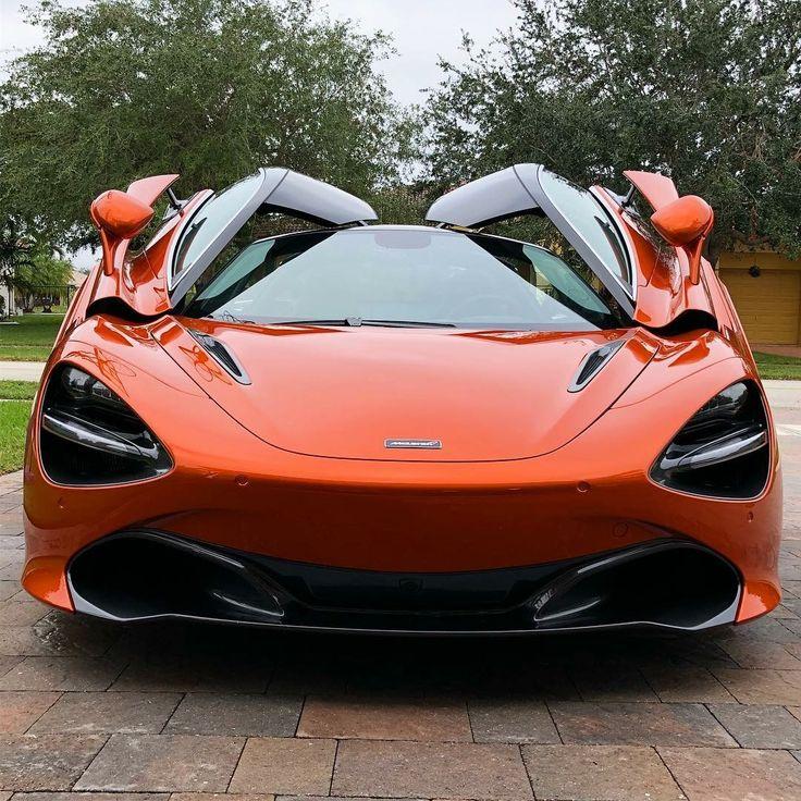 Bmw Z8 Sports Car: 720s Door Partially Up. McLaren