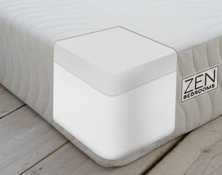 Foam Mattresses: Memory Foam Mattress Zen Bedroom