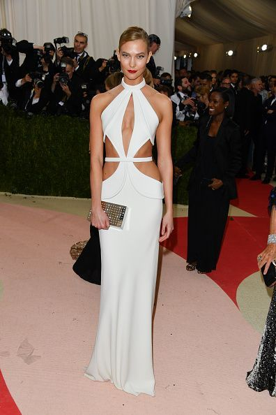 Karlie Kloss Actually Cut Off Half Her Dress For A Met Gala After Party