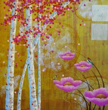 """""""Sweet Pink"""" by Cheryl Petersen – tusk gallery"""