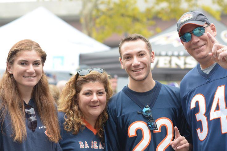 Bears fandom...it runs in the family.