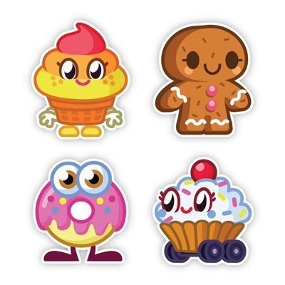 Moshi Monsters MOSHLINGS Wall Graphics from WALLS 360: Foodies Wall Decor Sets!