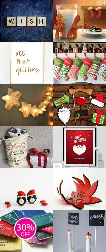 I wish for Christmas...! by Ana Jerónimo on Etsy--Pinned+with+TreasuryPin.com