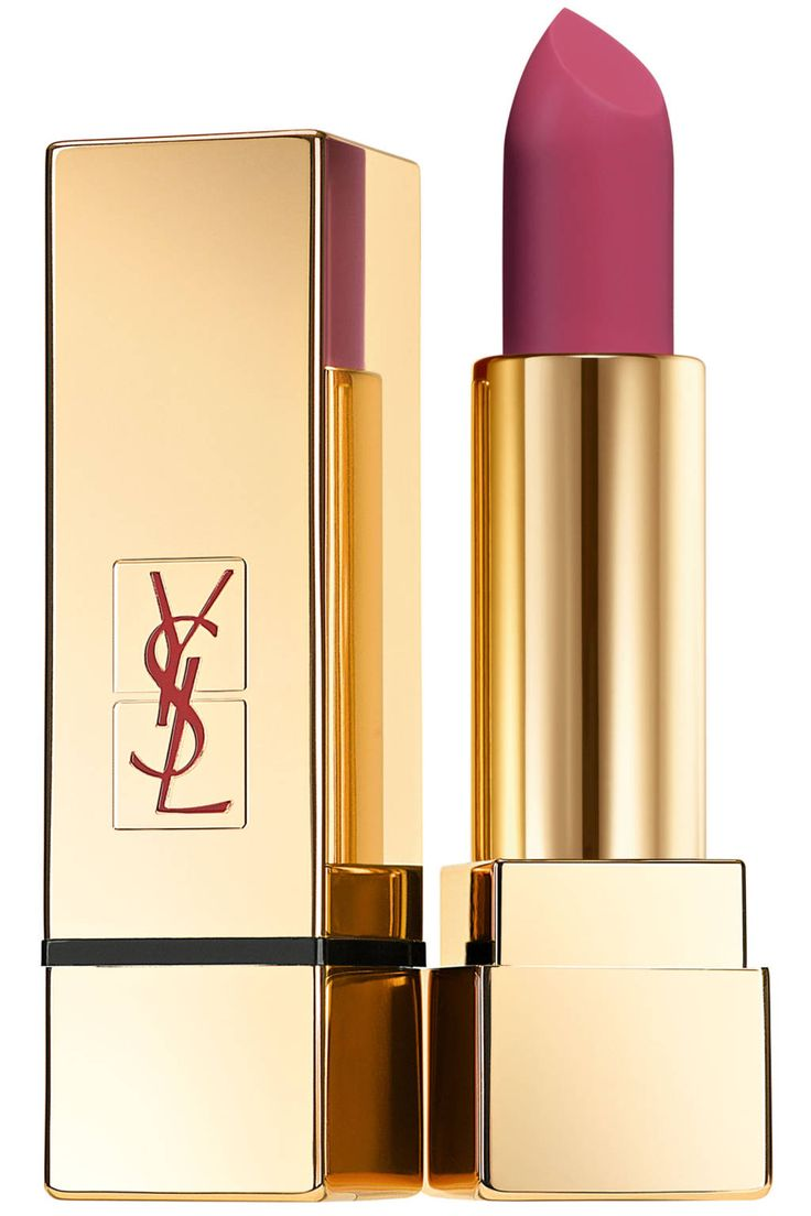 Best Lipsticks Fall 2014 - 15 Hottest Lipsticks For Fall - Harper's BAZAAR - YSL Rouge Pur Coutour The Mats in Rose Perfecto