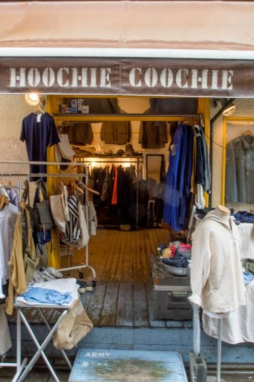 HOOCHIE COOCHIE 下北沢  ヨーロッパを中心としたレアなミリタリー衣類