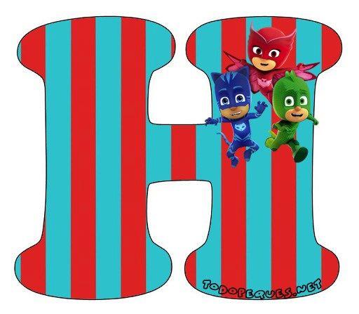 Alfabeto-heroes-en-Pijamas-Letra-h-Letters-Pj-Masks.jpg (512×447)