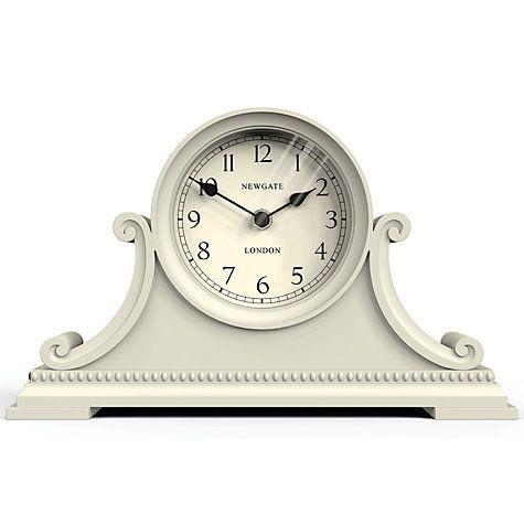 Buy Newgate Gatekeepers Mantel Clock, Cream Online at johnlewis.com