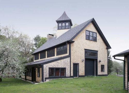 211 best barn homes images on pinterest arquitetura for Horse farm house plans