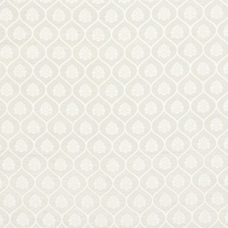 Warwick Fabrics : AYLESBURY, Colour IVORY