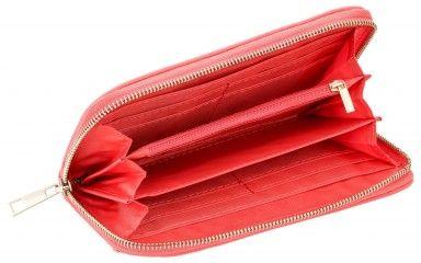 Roze dames portemonnee met bloemen patroon Modieuze roze damesportemonnee, een prachtig en handig ontwerp. Je kan al je pasjes, geld, en andere spullen kwijt. De hele portemonnee is versiert met allerlei vormen van bloemen.  Kortom een prachtige portemonnee om te vertonen! Bestel snel
