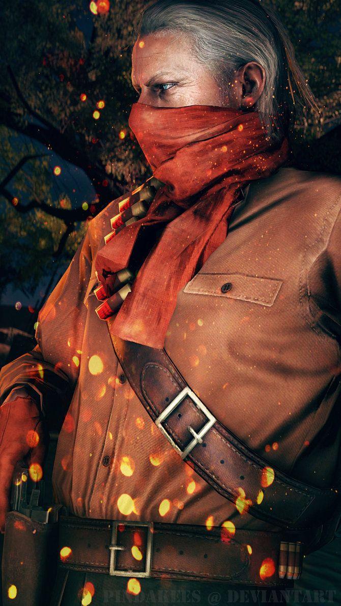 """Metal Gear Solid V The Phantom Pain - REVOLVER OCELOT """"SHALASHASKA"""""""