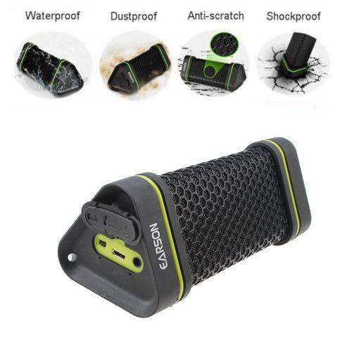 AGPtek EARSON Waterproof Shockproof Wireless Bluetooth Speaker For ipod Samsung iphone Smartphone PC