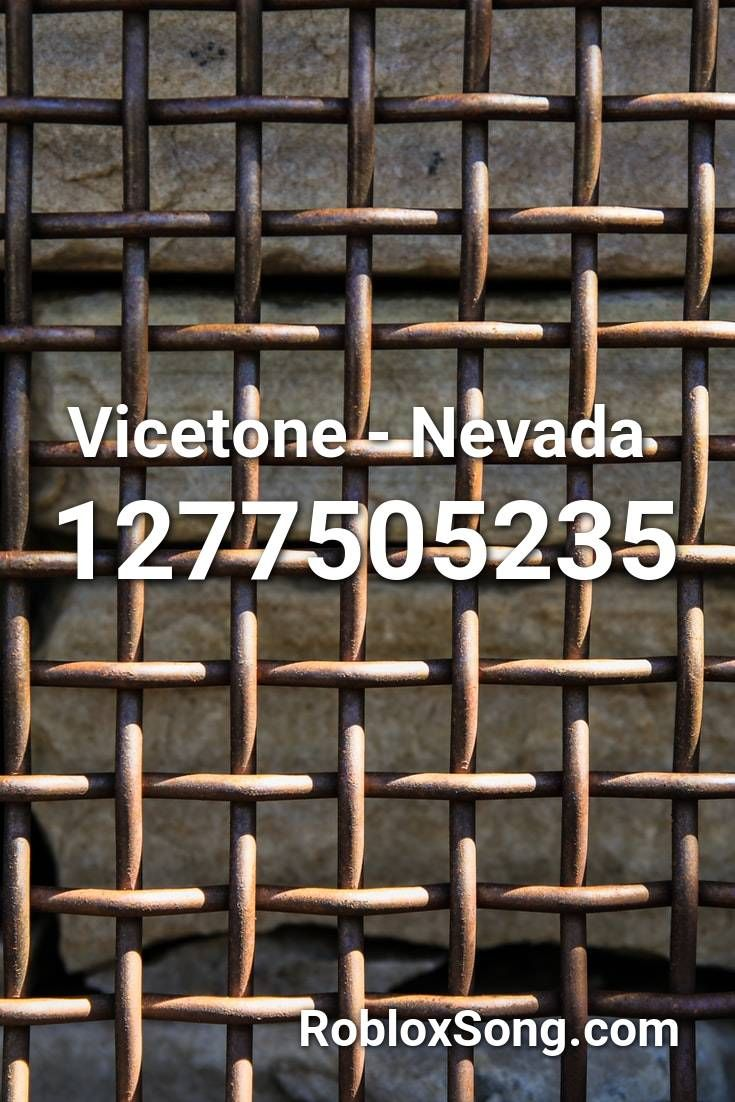 Vicetone Nevada Roblox Id Roblox Music Codes In 2020 Roblox