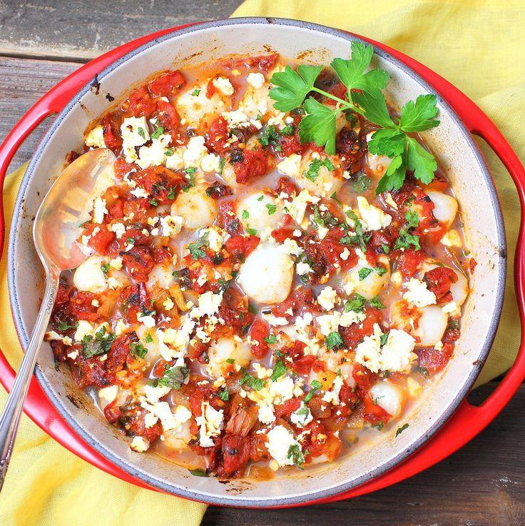 recipe: baked scallops florentine [15]