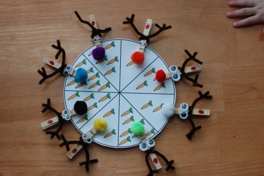 Hungry reindeers wheel