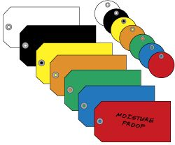 Plastic Tags, Plastic Tag in Stock - ULINE