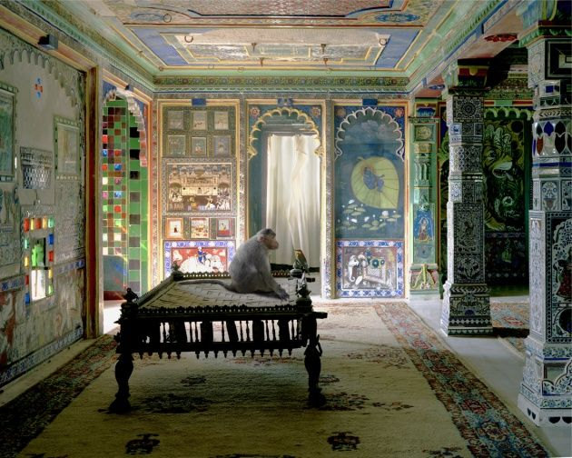 The Private Audience, Aam Khas, Junha Mahal, Dungarpur, Karen Knorr.