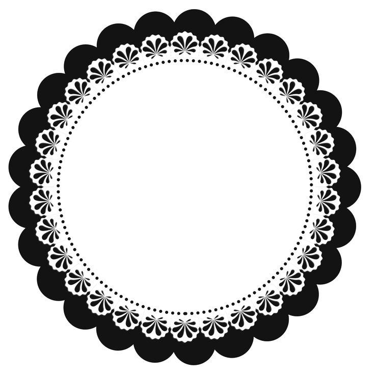 Escalopes em Png Frame : grátis para baixar - Cantinho do blog Layouts e Templates para Blogger