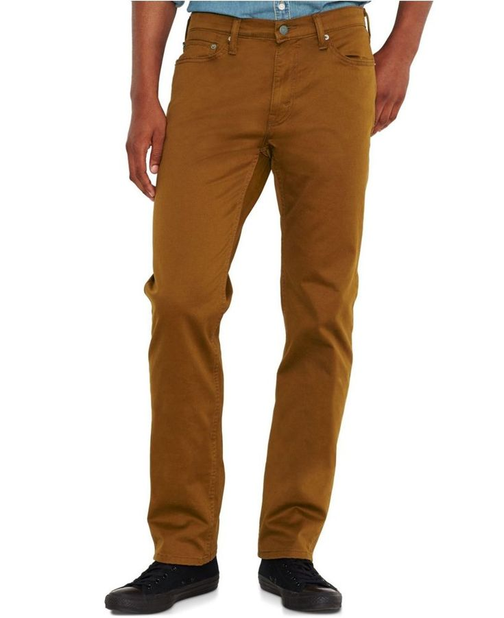 Levis 541 men big and tall athletic fit brown jeans size