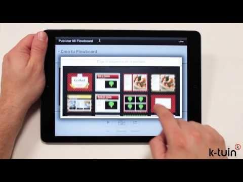 #app #ipad #Flowboard, presentaciones divertidas y profesionales