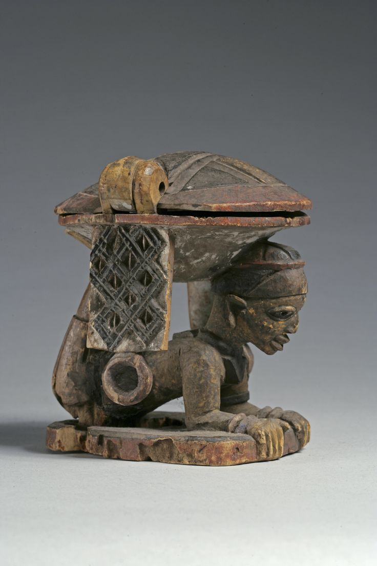Africa Container for a Shrine from the Yoruba people of Nigeria