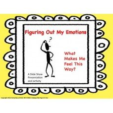 Power Point Slide Show: Figuring Out My Emotions created by KID CODES: Helping Kids Figure It Out. This is a Power Point Slide Show Activity version of my Figuring Out Your Emotions Activity. The fun and colorful Power Point offers a different way of accessing the material drawing kids in with the use of technology. - See more at: http://www.autismeducators.com