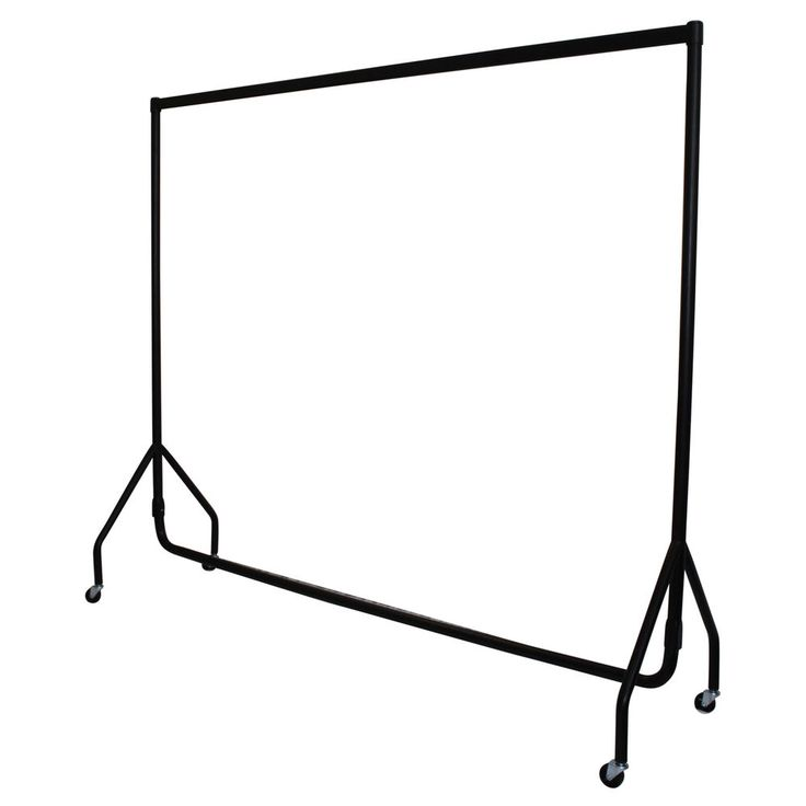 Garment Rail Clothes Rack Display Heavy Duty Very Strong Size 3ft 4ft 5ft 6ft