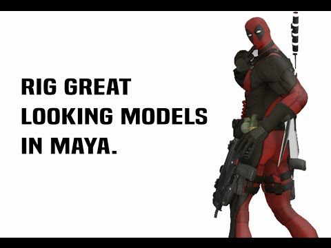 How to Rig a Character in Maya for Unity (+ Most Game Engines)