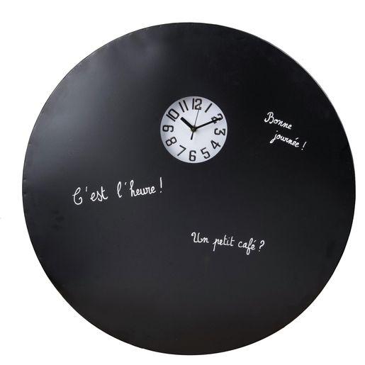 Horloge tableau noir - La Foir'Fouille en 2020 | Horloge, Tableau noir, Tableau