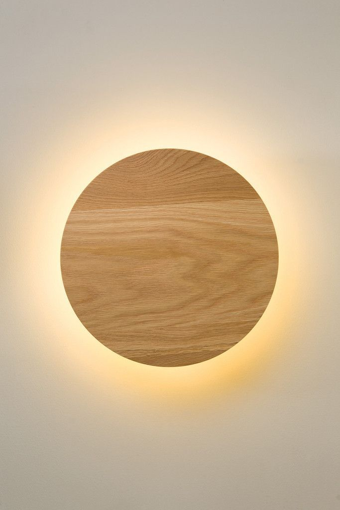 Radient Sconce Oak