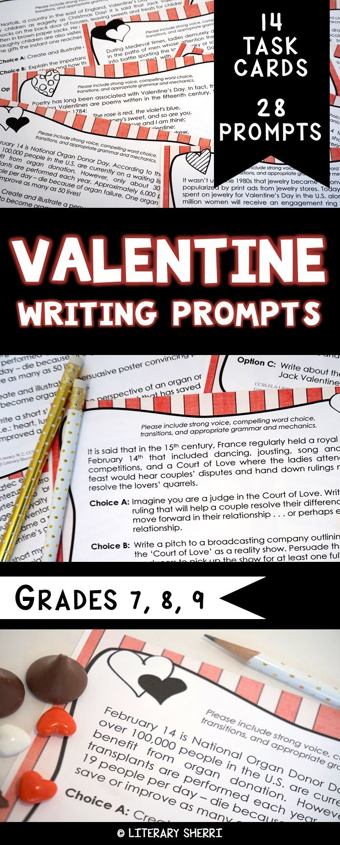 middle school writing prompts Check out these 10 middle school writing prompts for sixth, seventh and eighth graders.