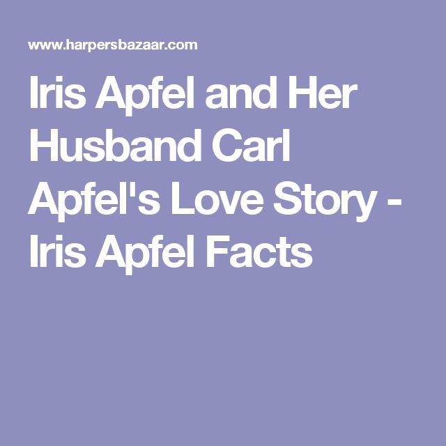 Iris Apfel and Her Husband Carl Apfel's Love Story - Iris Apfel Facts