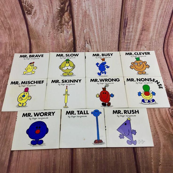 Mr Men Books Numbers 30 31 32 33 34 35 36 37 38 39 40 roger hargreaves kids read