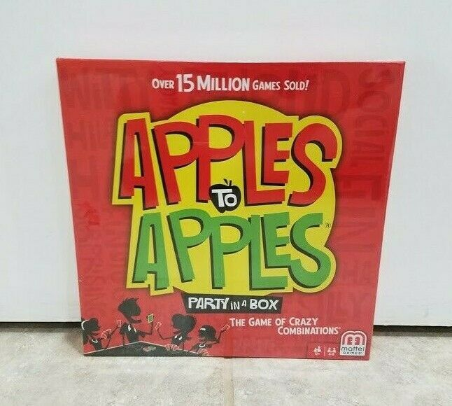 Details About Apples To Apples Party In A Box Game Of Crazy