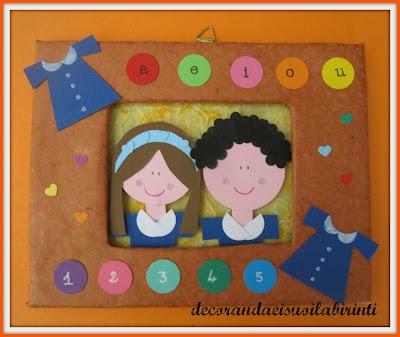 Quadretto accoglienza per aula scuola dell 39 infanzia for Addobbi scuola infanzia