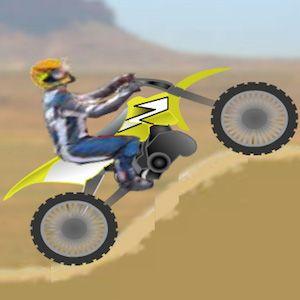 jocuri-Motociclete de teren prin desert