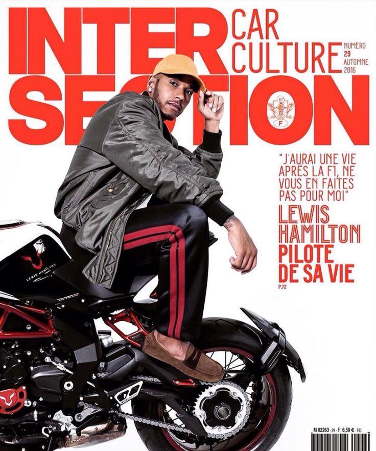 Lewis Hamilton for Intersection Magazine