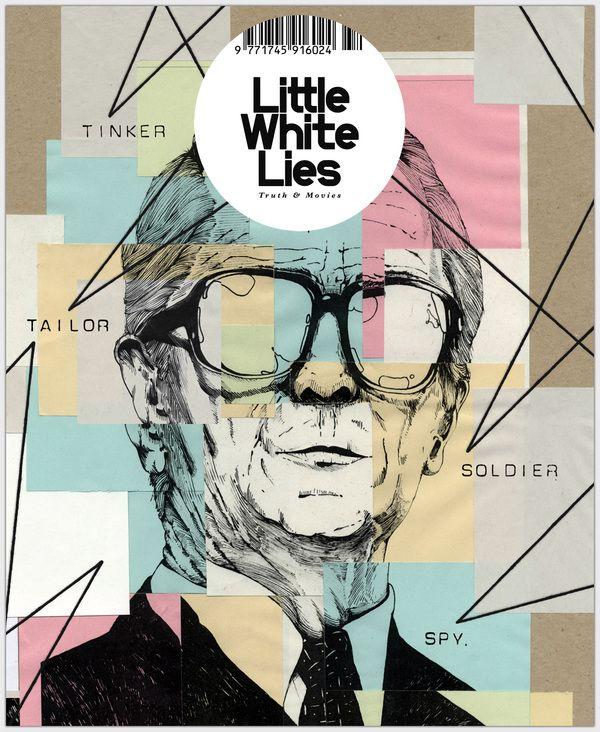 Robert Traxon Graphic Design: D Little White Lies: Cover Illustration By Robert Baughan