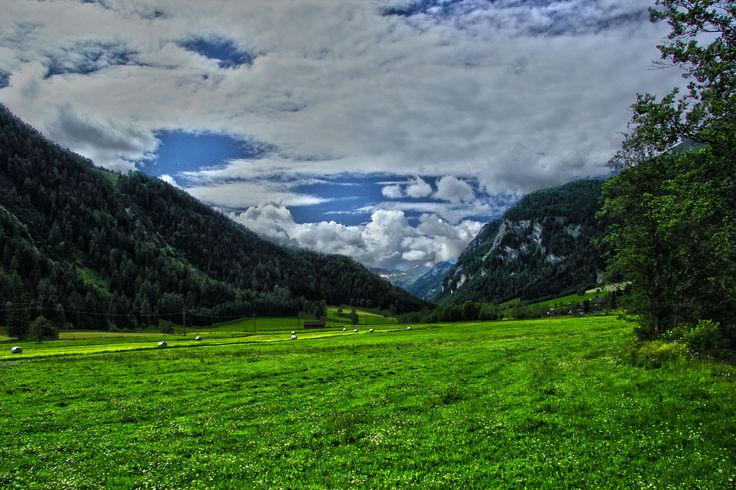 Valley near by Obertauern, Austria