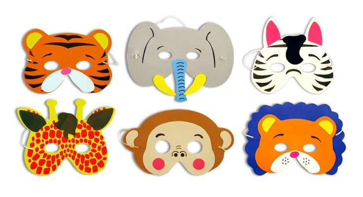 6 Foam Jungle Animal Masks - Pinata Toy Loot/Party Bag Fillers Wedding/Kids in Favours & Party Bag Fillers   eBay