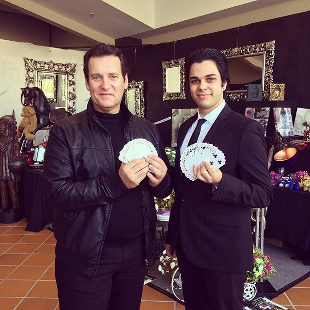 It was a beautiful day yesterday performing outdoors for the Caringbah Home Centre's Family Fun Day. Thank you to Terry for being one of my volunteers. Always a pleasure to perform for a fellow magic lover. -----------------------------------------------------------------@MagicianMarcusLuc------------#davidblaine #danielmadison #crissangel #damienobrien #davidcopperfield #houdini #illusion #magic #magician #playingcards #playingcardart #magic #magician #cardistry #thevirts #artofplay…