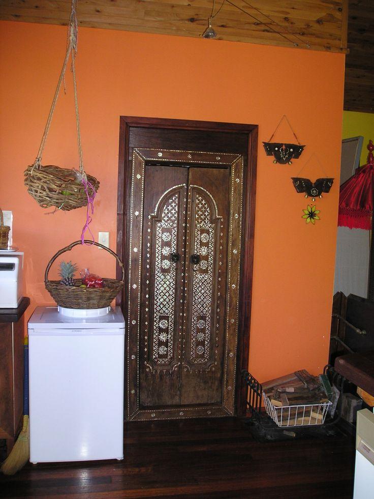 Pantry door upstairs