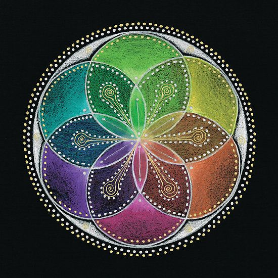 Seed of Life beginning concept for my next tat!