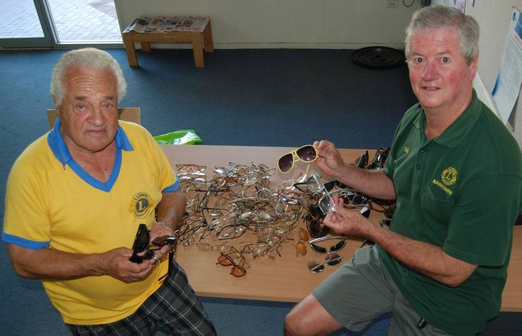 Narromine #LionsClub collects used eyeglasses for developing countries