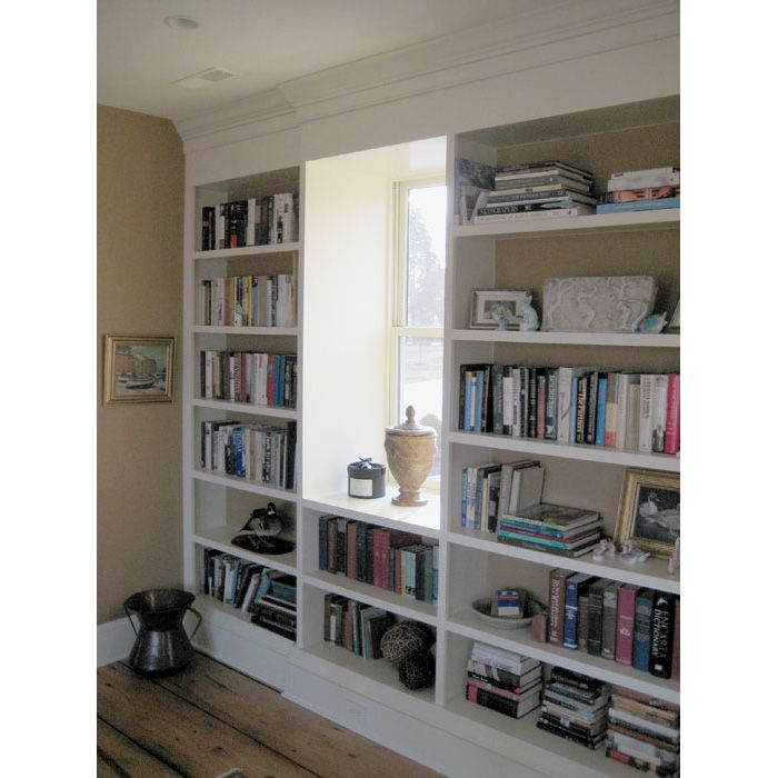 ... To Ceiling Built In Bookcase Plans - WoodWorking Projects & Plans