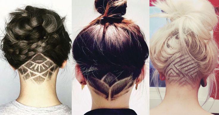 Девушек и парней охватил новый тренд: татуировки из волос на голове