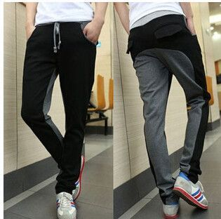Free Shipping 2017 New Fall men's Pants Fashion Elastic Waist Trousers Men Glasses Printed Slacks Menhip Jump Pants http://www.99wtf.net/young-style/urban-style/mens-ideas-dress-casually-fashion-2016/