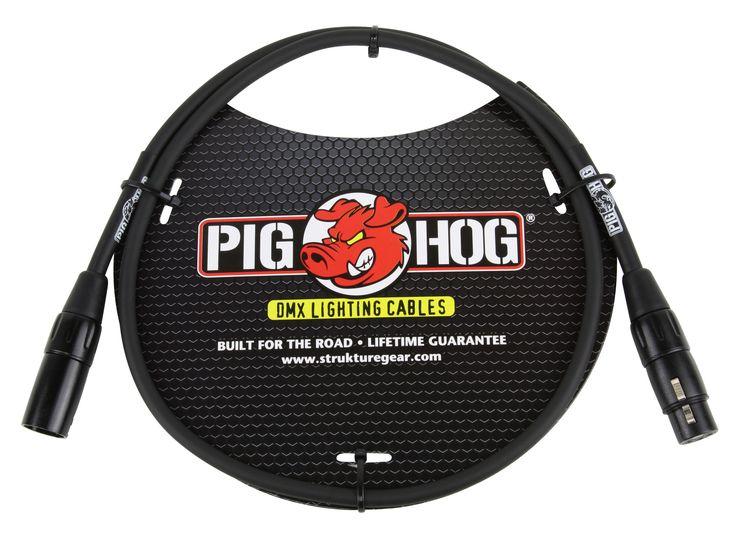 Pig Hog 3-foot DMX Lighting Cable