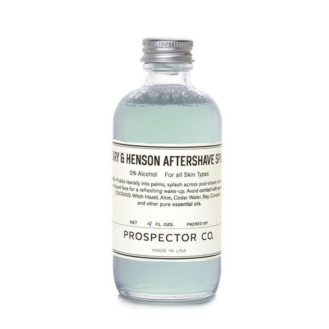 Prospector Co. Peary & Henson Aftershave www.westgoods.co