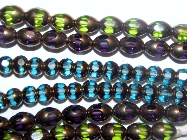 220 Assorted Copper Electroplated Beads. Starting at $1 on Tophatter.com!